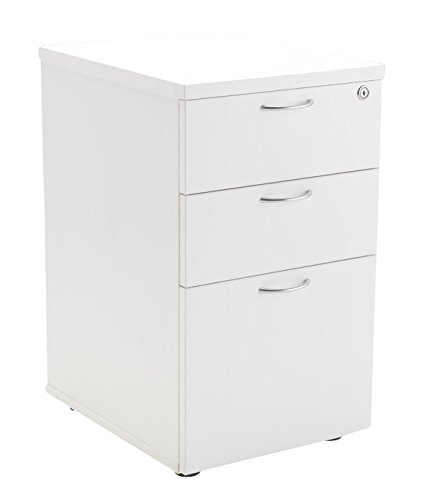 Office Hippo Heavy Duty 3 Drawer Under Desk Pedestal Pre Assembled