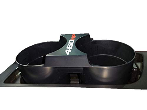 Corvette Stingray Sport Coupe - Stop Flop C7 Corvette Center Console Extendable and Retractable Cup Holders - The Perfect Solution for securing Drinks and belongings from Flopping Out While Driving - HP Logo Variations Available