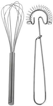 IKEA IDEALISK - Juego de 2 varillas de acero inoxidable