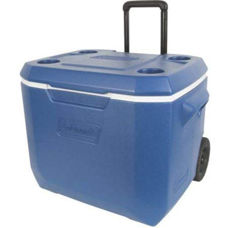 Coleman 50-Quart Xtreme 5-Day Heavy-Duty Cooler with Wheels, Blue by Coleman