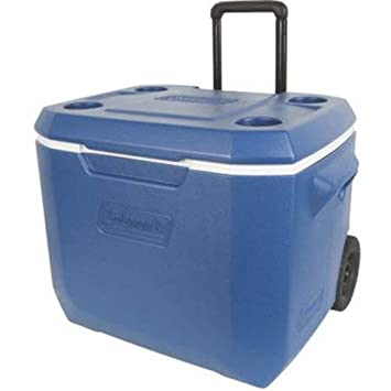 Coleman Xtreme 50-Quart Wheeled Cooler picnic food ice chest shipper quality