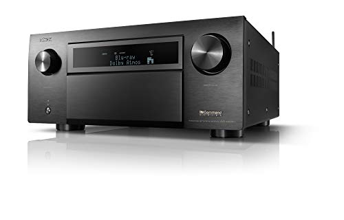 Denon AVR-X8500H HDMI /3 Out, Powerful Home Theater Sound,