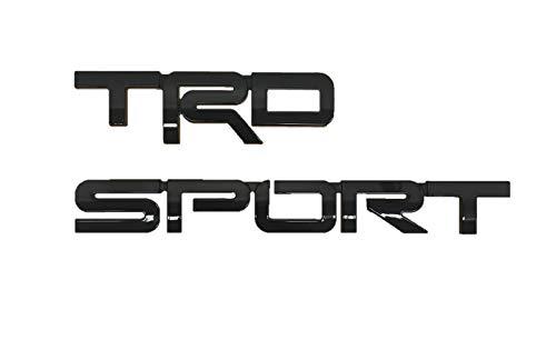 Toyota Genuine Sequoia TRD Sport Emblem PT413-0C180-02. Black TRD Sport. 2018-2019 Sequoia.