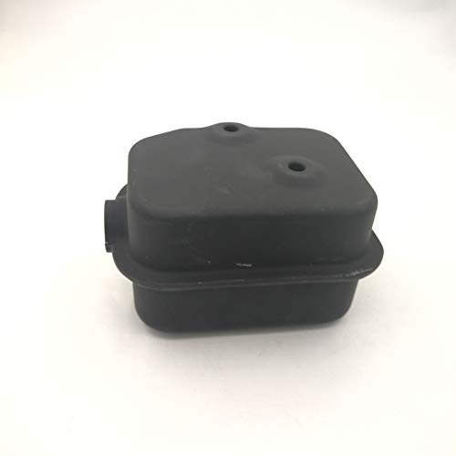 shiosheng Muffler fits for Honda GXV160 GXV140 HR215 HRB215 HRC216 HRM215 Lawn Mower Replacement Part Replacement Part - Lawn Muffler Mower