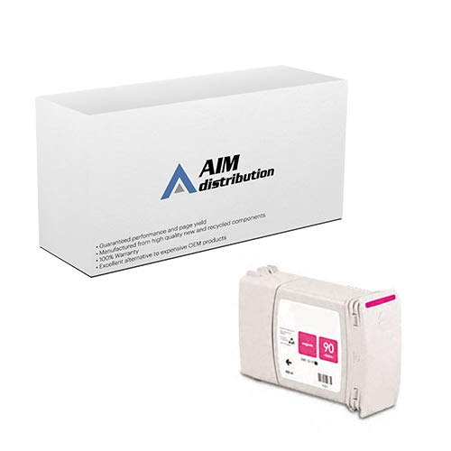 AIM Compatible Replacement for HP NO. 90 Magenta Inkjet (400 ML) (C5062A) - Generic