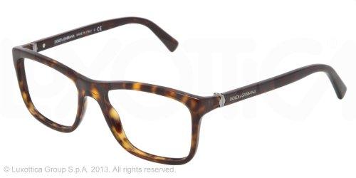 DOLCE & GABBANA Monture lunettes de vue DG 3164 502 La Havane 53MM