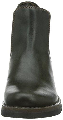 Gray Boots Rug Diesel Salv Chelsea Fly London Women's vwxqgC6P