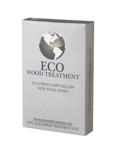 Eco Wood Treatment EWT1, 1 US Gallon, Long Lasting, Silvery Patina, Semi-Transparent (1 Pack)