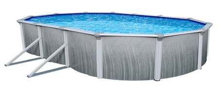 Blue Wave Martinique Oval 52 Inch Above Ground Pool - 15 Ft X 30 Ft