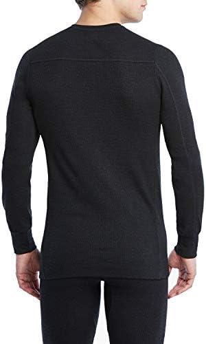 2(x)ist - Maglietta Tecnica a Maniche Lunghe da Uomo, Colore: Nero