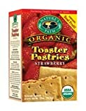 Nature's Path Organic Unfrosted Strawberry Toaster Pastry 11 oz. (Pack of 12)