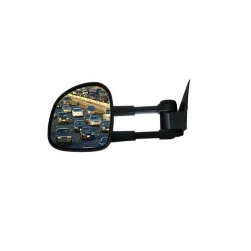 CIPA 70010 Extendable Replacement Electric Towing Mirror (Black) fits GMC/CHEVY Full Size Pickups 1988-2000 - Right Hand Side (Average Length Of A Full Size Pickup Truck)