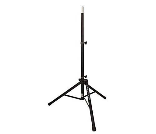 Ultimate Support TS-80B Aluminum Tripod Speaker Stand w/Integrated Spkr Adapter ()