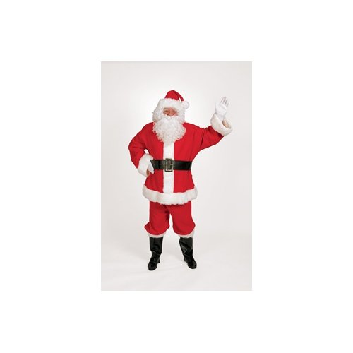 Halco Holidays Men's Completede Santa Suit Costume, X-Large -