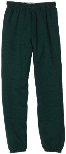 MJ Soffe Big Boys' Sweatpant, Dark Green, Small (Green Sweatpants Kids)