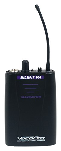 Microphone 900mhz Wireless (VOCOPRO SilentPA-TX Wireless Microphones and Transmitters)