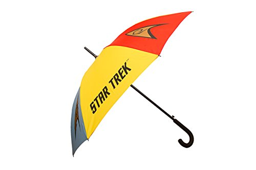 Official Star Trek Emblems Stick Umbrella - Merchandise by LOVARZI