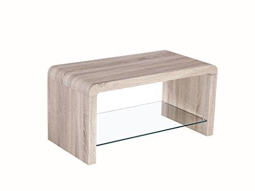 Malmo Basse Finition Chêne Avec Table En The Étagère One H2DIWE9