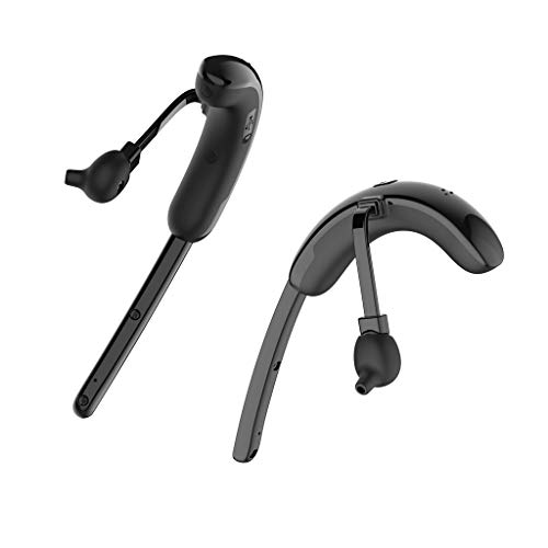 Roisay Wireless Stereo Bluetooth Earphone,Black Bluetooth Version V4.2 Ultra-Low Power Consumption Headphone Noise Cancelling Handfree Smartphone Sport Headset