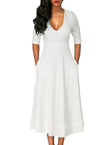 Happy Sailed Sleeves Casual Dresses