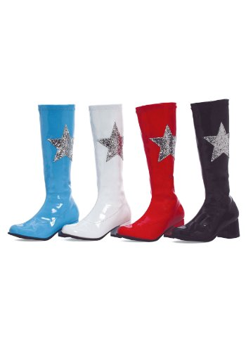 175-STAR Kids Boot Color: Blue Size: Medium