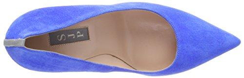Para azzurro Suede Tacón Parker By Mujer Fawn Blue De Sarah Sjp Jessica Azul Zapatos Fwq1PHx8PZ
