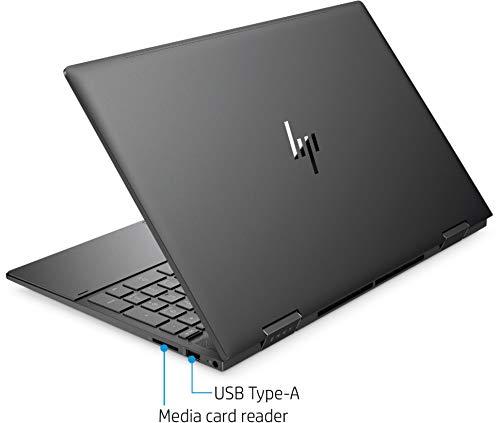 "2021 Flagship HP Envy 15 x360 2 in 1 Laptop 15.6"" Diagonal FHD IPS Touchscreen Display AMD 6-Core Ryzen 5 4500U 8GB RAM 256GB SSD Fingerprint Backlit Wifi6 USB-C HDMI B&O Win10 + iCarp Pen"