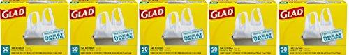 Glad Tall Kitchen Handle- qwvHeY Tie Trash Bags, 13 Gallo...