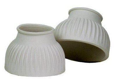 Centaur Dubbla Tjock Botten Ribbade Bell Stövlar Transparent Gummi