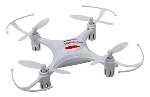 WonderTech Super Mini 6 Axis Gyro 4CH Radio Control Mini Quadcopter Drone (Gyro Radio Remote Control)