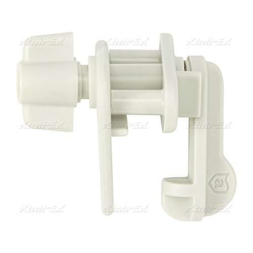 Attwood Universal Pontoon Replacement Gate Latch, White by attwood ()