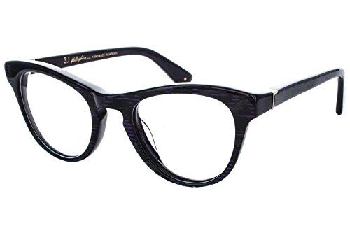 3.1 Phillip Lim Pearl Womens Eyeglass Frames - Purple - Phillip Eyeglasses Lim