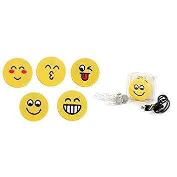 Lote de 20 Mp3 Emoticonos En Caja de Regalo (Cable + Casco ...
