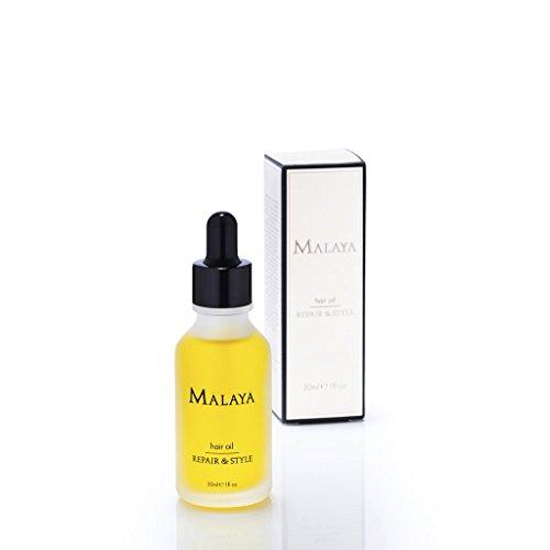 Malaya Organics Repair and Style Hair Oil Certified Organic