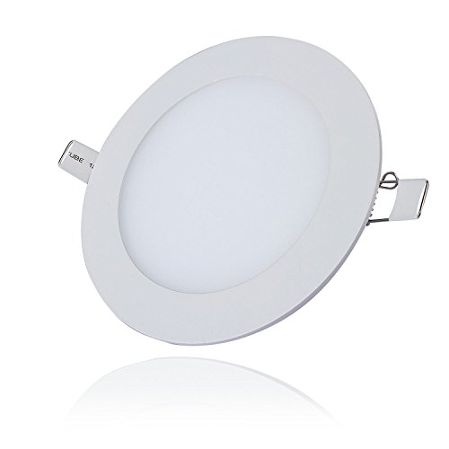 Liqoo® 3W Ultraslim Slim LED Panel Rund Einbaustrahler Einbauleuchte ...