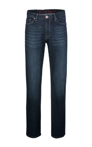 h.i.s Hombre Jeans Henry w5010; Rinse Heavy gr