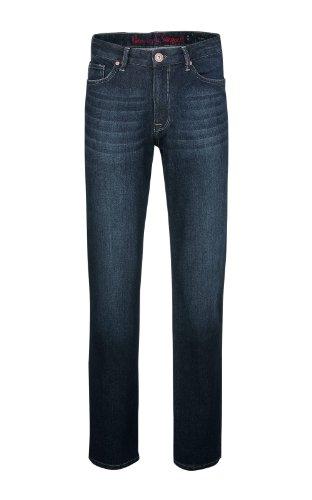 H.I.S Herren Jeans Henry w5010; rinse heavy Gr