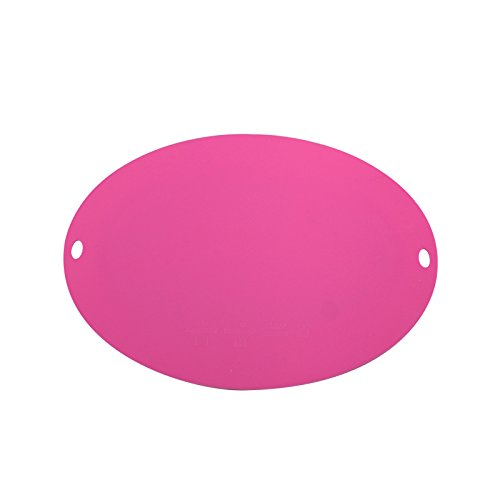 Kleiman Goods Premium FDA Approved Silicone Placemat with Suction, Dishwasher Safe, Heat Resistant - Works Great w/Any Surface (Pink) by Kleiman Goods (Image #5)