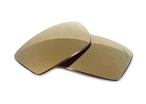 FUSE+ Lenses for Von Zipper Zorg Metallic Bronze Mirror - Sunglasses Zorg