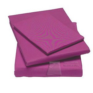 Matching Bedrooms Luxury Polycotton Percale Double Bed Valance Sheet Fuschia by AT