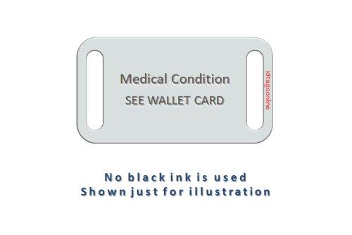 PEANUT ALLERGY Sport and Travel Medical Alert ID Bracelet for Kids. by IdTagsonline (Image #5)