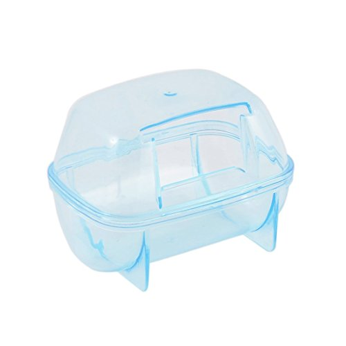 Image of Saim Hamster Bathroom, Small Pets Hamster Bathroom Bath Sand Room Sauna Toilet ( Random Color)
