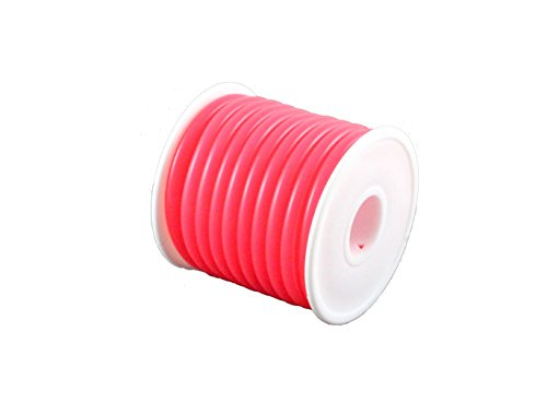 TopHobbyUS 1 Roll (16 ft) Pink Silicone RC Nitro Fuel Line Tubing D5.2xø2.5 ()