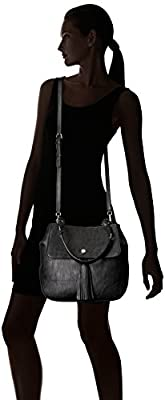 Calvin Klein Unlined Novelty Flap Hobo