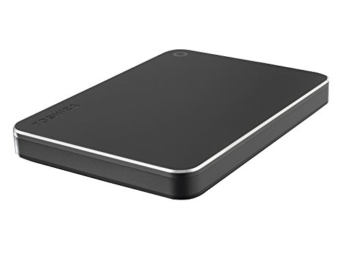 Toshiba Canvio 2TB Premium Externe Festplatte (6,4 cm (2,5 Zoll), USB 3.0) dunkelgrau
