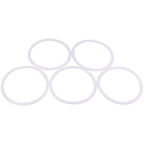(Dernord Silicone Gasket Tri-Clover (Tri-clamp) O-Ring - 4 inch (Pack of 5))