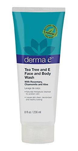 derma-e-face-and-body-wash-tea-tree-and-e-8-fluid-ounce-220-ml