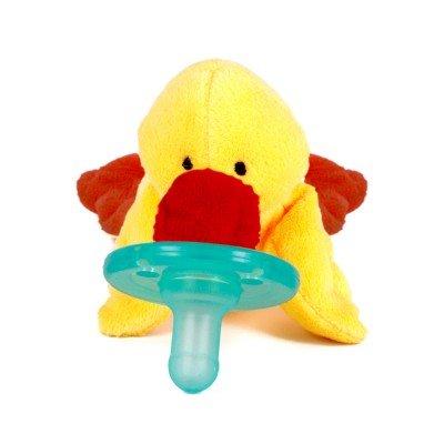 WubbaNub Yellow Duck Pacifier