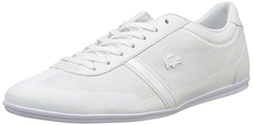 Lacoste Mokara 116 1 Cam Wht, Bajos para Hombre, Blanco Blanco (Wht)