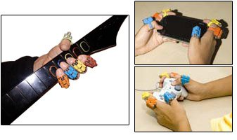 Finger Weights for Musicians - Set of 10 - Universal Fitting by Finger Weights (Image #6)